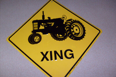 Tractor Xing Sign