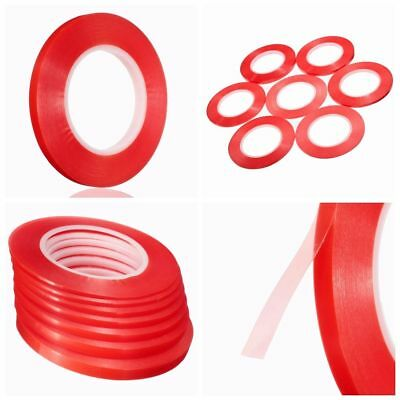 50M RED Adhesive Double Side Tape Strong Sticky For Cell Phone LCD Screen Repair