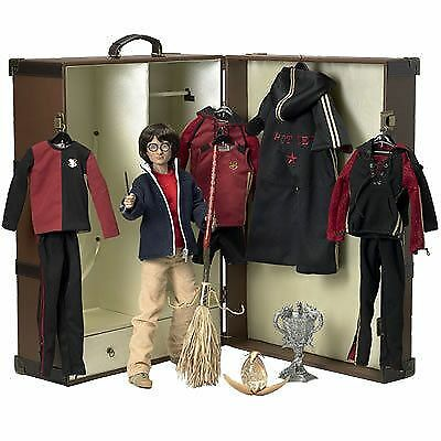 """Tonner Harry Potter TRIWIZARD TRUNK SET Complete w/ 17""""DOLL,Outfits &Accessories"""