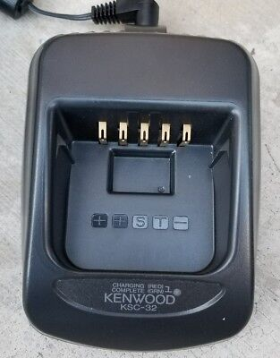 Kenwood Ksc-32 Rapid Rate Charger For Knb-31A,32N,33L,43L,47L,48L,50Nc,54N