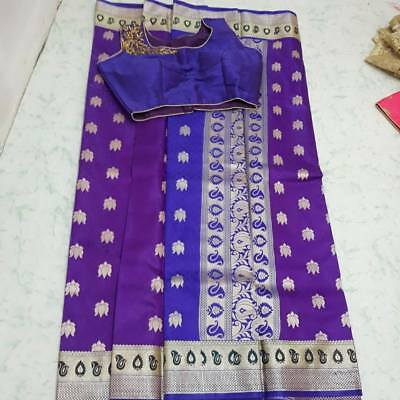 USA  saree with ready made blouse saree with stitched blouse