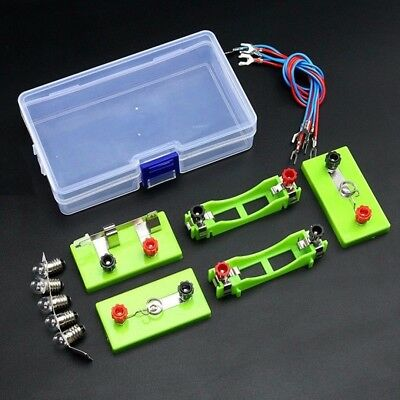 Electric Circuit Kit Children Student School Science Educational Toy DIY