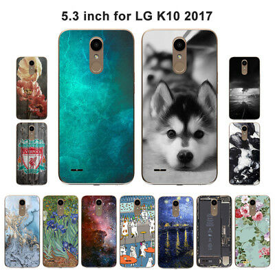 Soft TPU Silicone Case For LG K10 2017 Protective Phone Back Cover Skin View