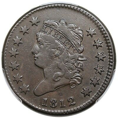 1812 Classic Head Large Cent, Small Date, S-290, PCGS VF25
