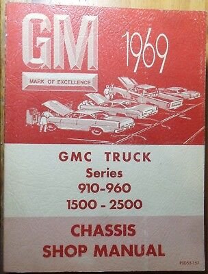 1969 GMC Truck Series 910-960,1500-2500 Chassis Shop Manual, PSD53-157