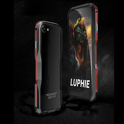 Luphie Shockproof Aluminum Metal Heavy Duty Bumper Case Cover For iPhone Xs Max