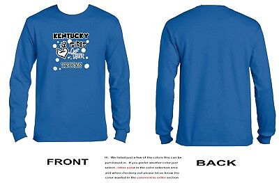 Kentucky Girls Love Their Trucks Long Sleeve - 3041