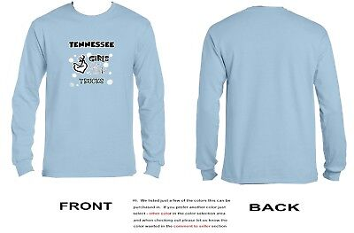 Tennessee Girls Love Their Trucks Long Sleeve - 3041