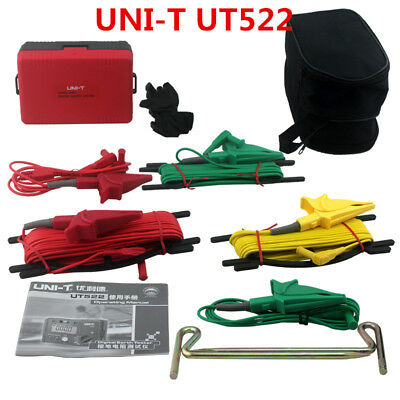 New UNI-T UT522 LCD Display Digital Earth Ground Insulation Resistance Tester 2'