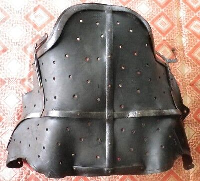 antique / 20th. / rare / interesting child leather medical corset