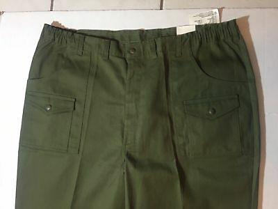 Scout Uniforms BSA Action Fit Green Uniform Pants for Men