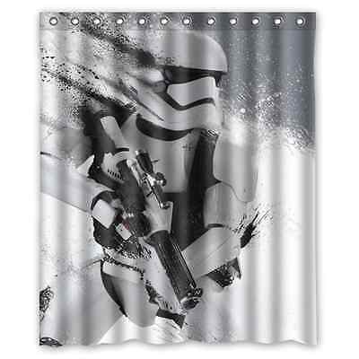 Bathroom Decoration Custom Fighting Stormtrooper Shower Curtain 60x72 Inches