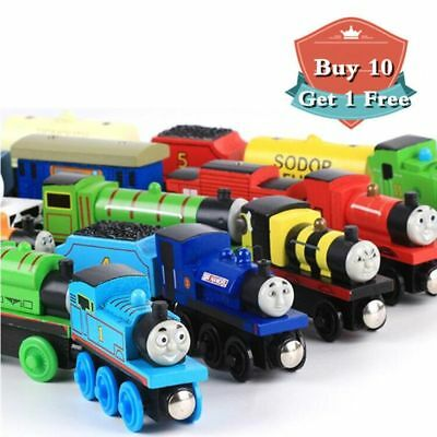 Thomas & Friends Railway Magnetic Wooden Toy Train Kids Boys Gift New
