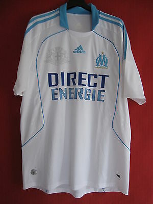 Adidas Jersey OM Direct Energie Olympique Marseille 2008 Home -L