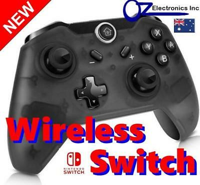 New Black Wireless Game Controller for Nintendo Switch works with V8.x firmware