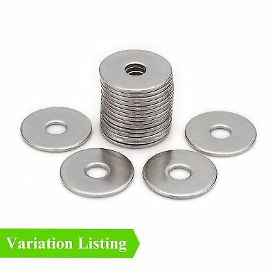 Steel Imperial Backing Washers for Blind Pop Rivets / Bright Zinc Plated