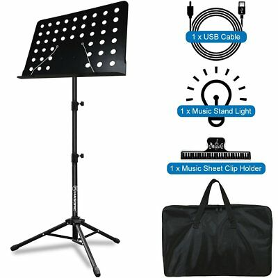 Music Stand, Kasonic Professional Collapsible Music Stand for Music Sheet, Books
