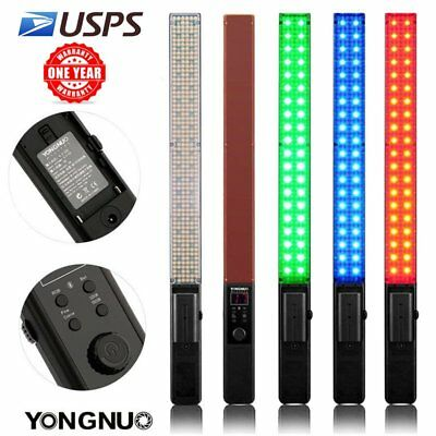 YONGNUO YN360 Handheld Pro LED Video Light 3200-5500K RGB Colorful Bi-Color US