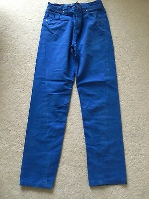 Next Boys Blue Chino Adjustable Waist Jeans. Aged 10Years.