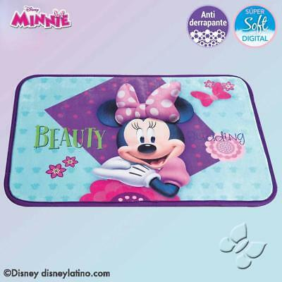 "Disney Minnie Mouse 20"" X 28"" Non- Skid Rectangular Floor Mat"