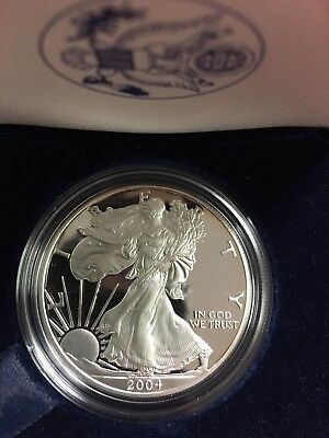 2004 American Silver Eagle Proof with Original Box and COA