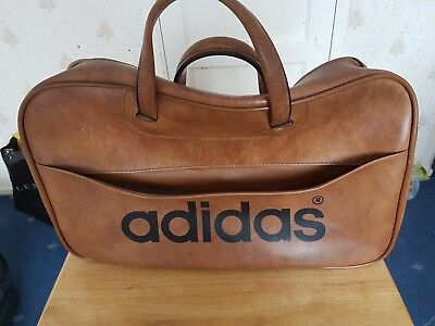 VINTAGE ADIDAS RETRO Bag   Holdall - Brown - Peter Black - £41.00 ... 246f31ddf6428