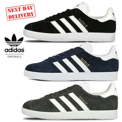 Adidas Gazelle Men's Suede Trainers Navy BB5478 Grey BB5480 Black BB547 Shoes