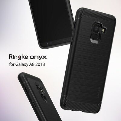 Ringke Onyx Strong Flex Soft TPU Cover For Samsung Galaxy A8 A8 Plus 2018 Case