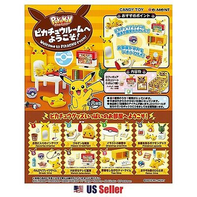 Pokemon Pikachu Welcome to Pikachu Room Rement Miniature Blind Box 1pc : Random