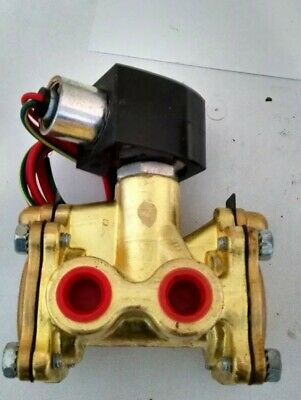 """3/8"""" ASCO EF8016G1 3W NC 24/DC Quick Exhaust Solenoid Valve IN BOX Red Hat"""
