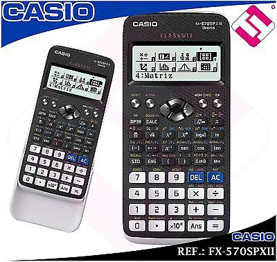 Calculatrice Scientifique Casio Fx-570Spxii École Secondaire De L'Université