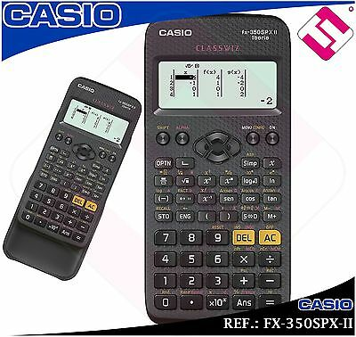 Calculatrice Casio Scientifique Technique Fx-350Spx-Ii Recommandé Profes