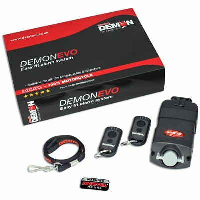 Datatool Motorcycle Motorbike Evo Compact Self Fit Alarm System New