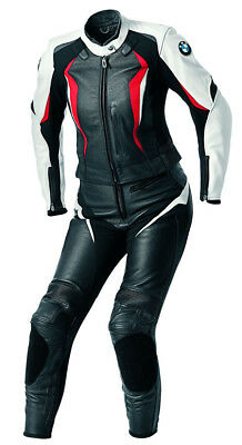 BMW Motorcycle Leather Suit Motorbike Leather Jacket and Leather Trouser women
