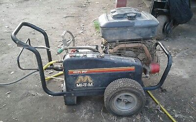 Mi-T-M Electric Start Commercial Pressure Washer 4000 Psi - Gas Powered