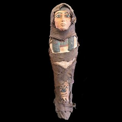 Egyptian Hieroglyphic Shabti, Late Period 664 - 332 Bc (8) Large