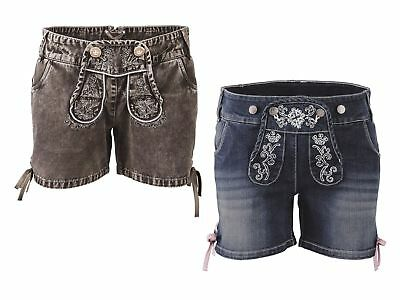 Trachtenjeansshorts Jeans Shorts Traditional Costume Trousers Oktoberfest