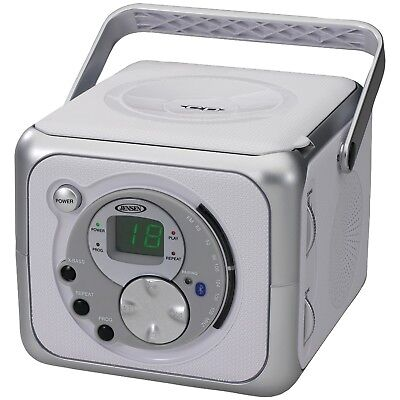JENSEN(R) CD-555A Portable Bluetooth(R) Music System with CD Player