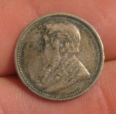 South Africa - 1893 Silver 6 Pence