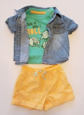 339124491ff9 CAT   JACK Baby Boy s Shorts Outfit Set