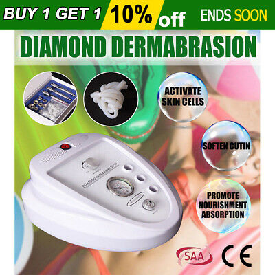 NEW Diamond Dermabrasion Microdermabrasion System Remover Beauty Peel Clean Face