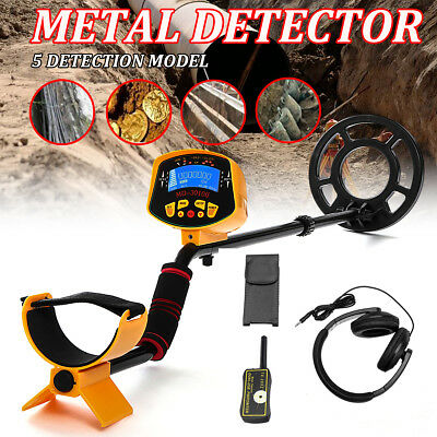 5 Mode Metal Detector Gold Deep Sensitive Light Searching Digger Treasure Hunter