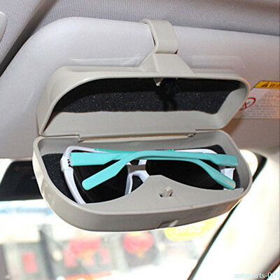 abae2bf0ea37 Car Sunglasses Holder Glasses Case Cage Storage Box Fit For VW Audi BMW UKO9