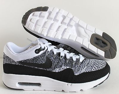 lowest price d462c e0f0a NIKE AIR MAX 1 Ultra Flyknit White-Black Oreo Sz 15 [843384-100]