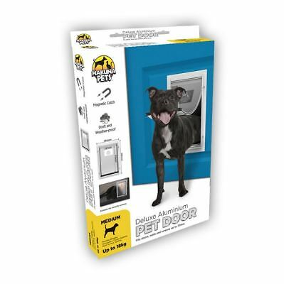 Pet Door Medium - Cat & Dog - Hakuna - 2 Way Flap & Lock - 237mm x 315mm Opening