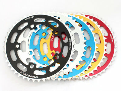 TOPRIDER Old School BMX Chainring 44T 5 Bolt BCD 110 5 Colors
