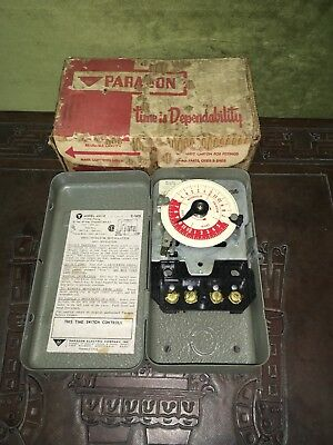 24 Hour Electric Timer Timing System Paragon 4001-0 FAST FREE SHIPPING