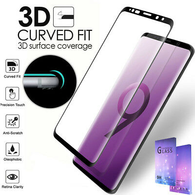 Galaxy S9 S8 Plus Note 9 Case Friendly tempered Glass Screen Protector F Samsung