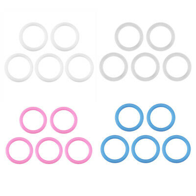 20Pcs/Set O-Rings Soft Silicone Baby Dummy Pacifier Chain Clips Adapter Holder
