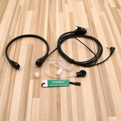 Clear Acoustic Headset//Earpiece For Uniden Radio GMR3799 GMR4040 GMR4099 GMR5089